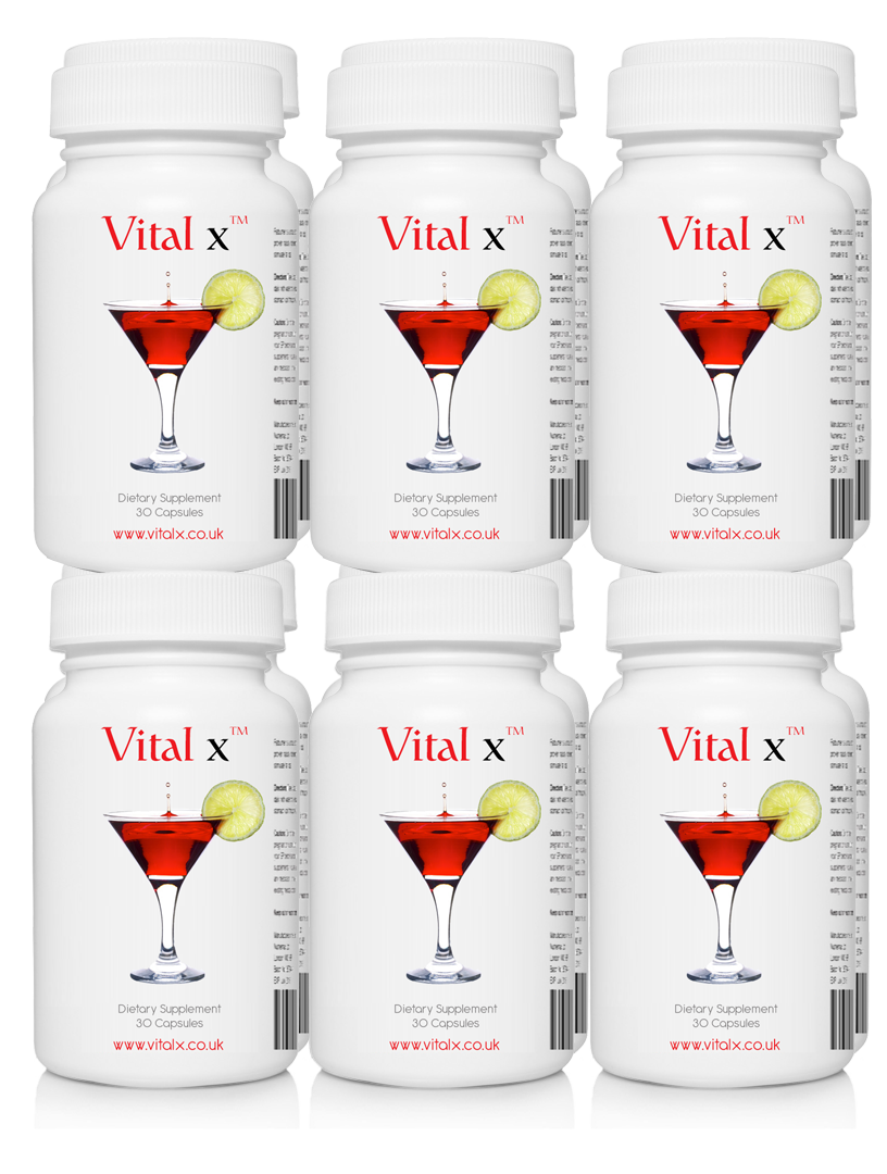 Vitalx 12 pack Party Pack New