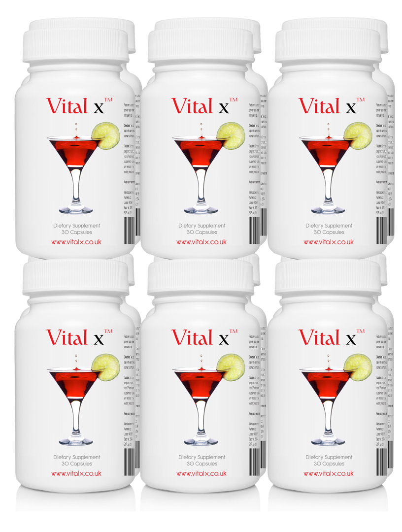 Vitalx 12 Bottle Party Pack